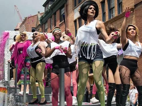 Défilé et festival de Philly Pride