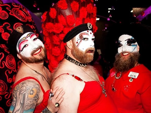 Portland Red Dress Party