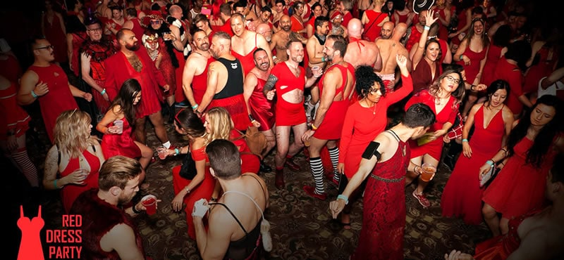Portland Red Dress Party 2021 started