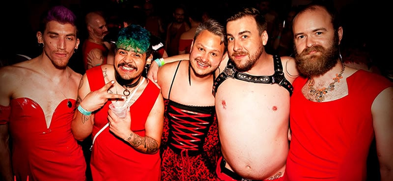 Gay portland party