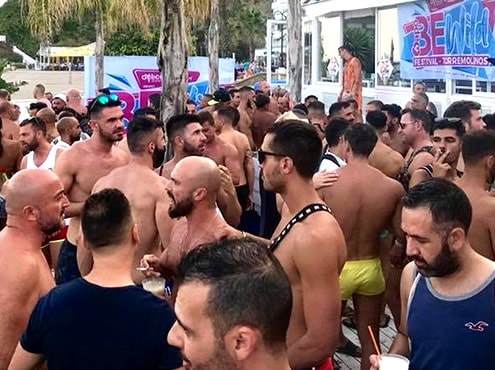 Winter Beach Pride Torremolinos