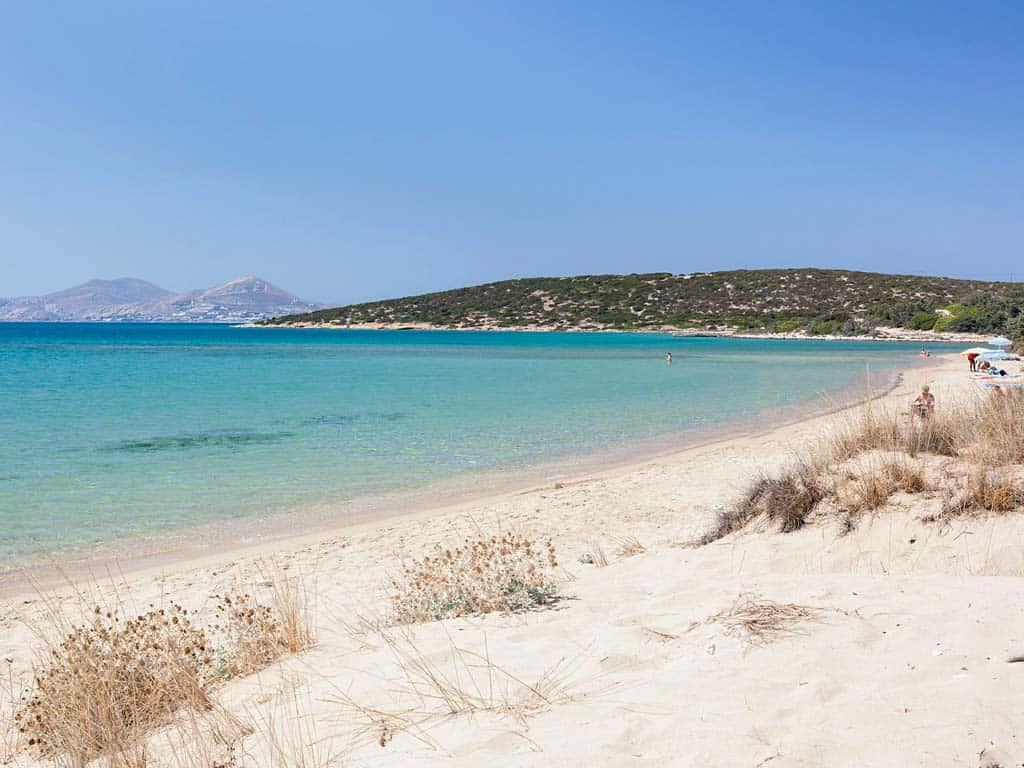Lager Gay beach Paros