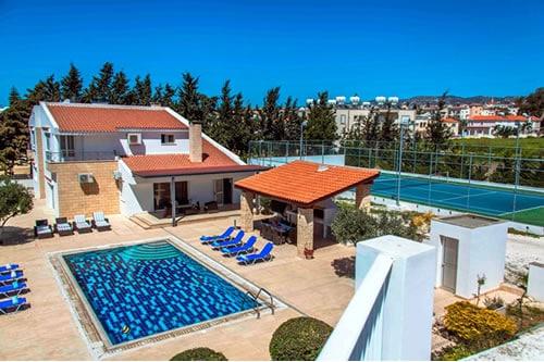 Large villa in Paphos centre