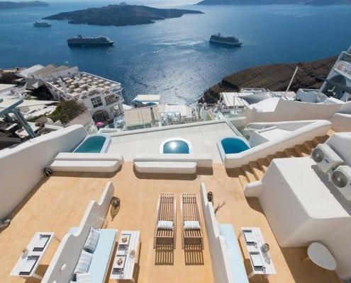 Off the Cliff Suites, Santorini