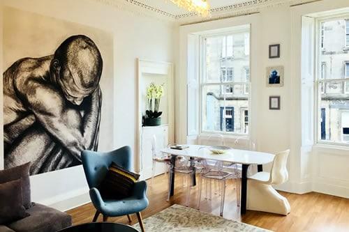 Sunny & Spacious Apartment Edinburgh
