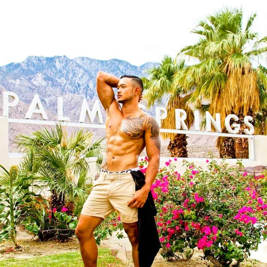 gay palm springs map