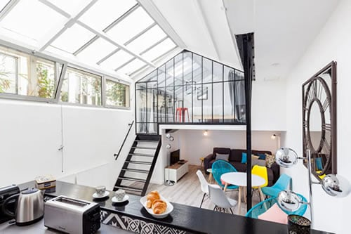 Atelier of artist Apartment in Paris