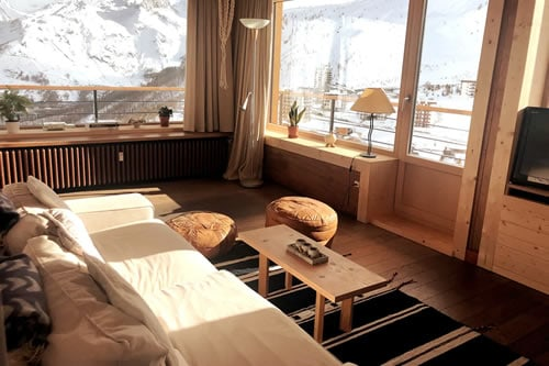 Panorama view Apartment in Tignes