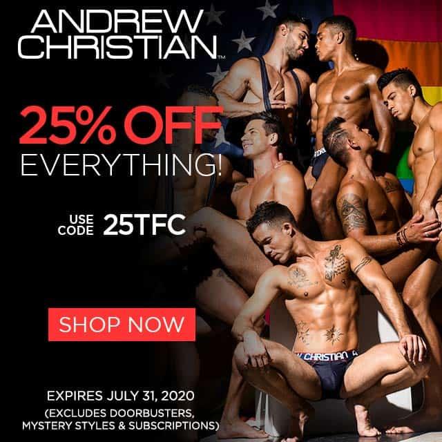 Andrew Christian Sponsor