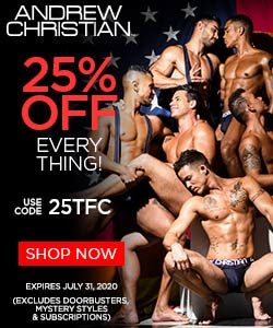 Andrew Christian Side banner