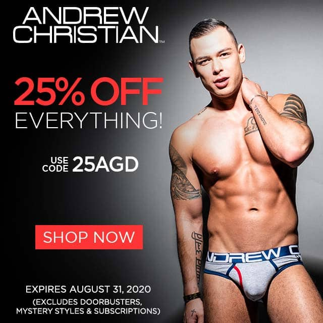 Andrew Christian Sponsor Offer