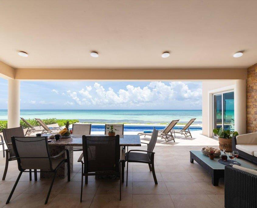 Playa beach front villa