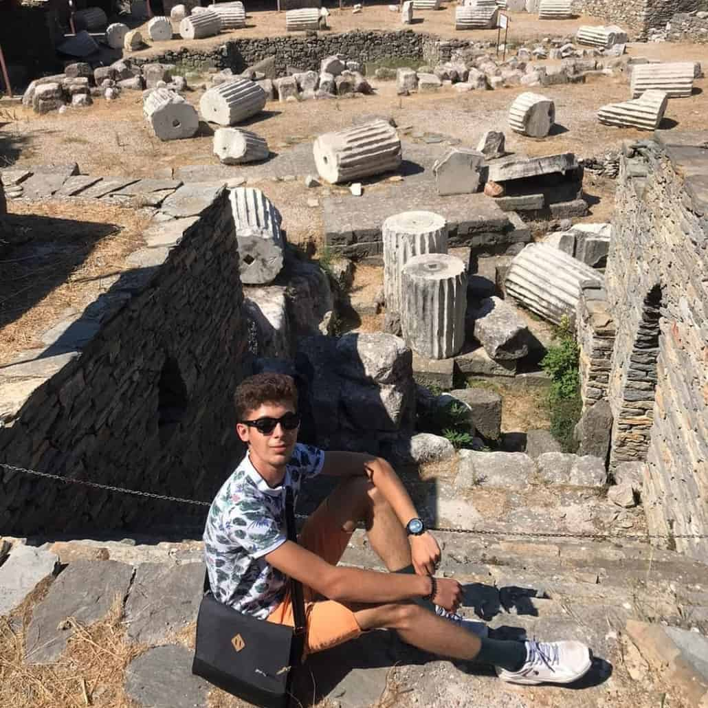 Explore Castle Ruins