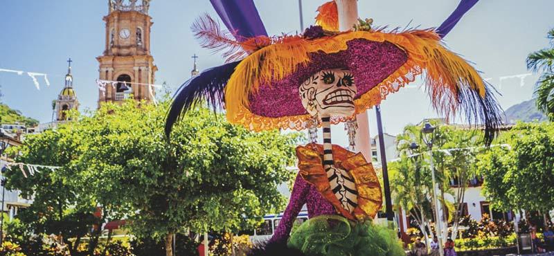 Day of the dead celebrations in Puerto Vallarta