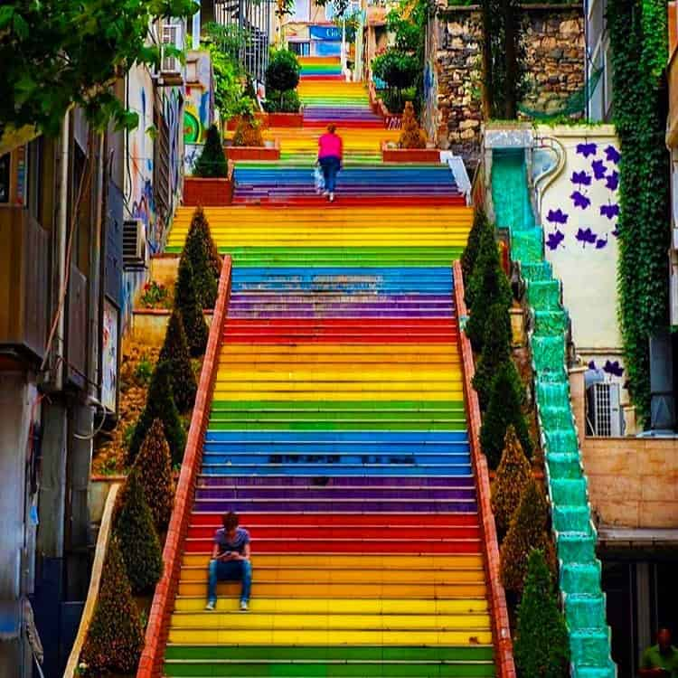 The Rainbow Stairs