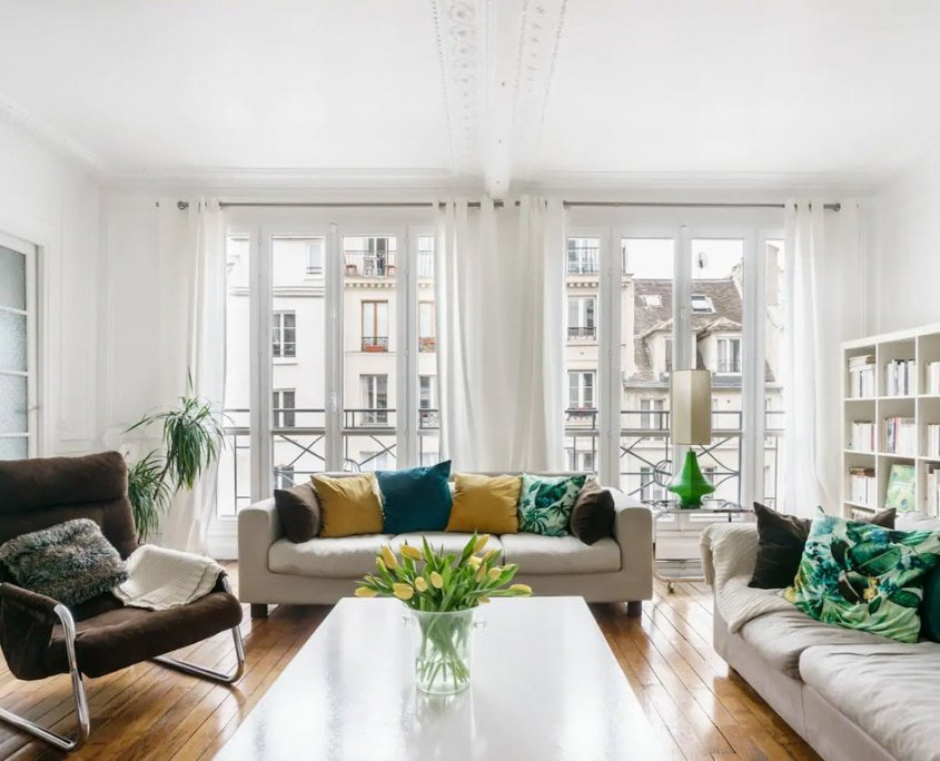 Chic Apartment in a Handsome Building