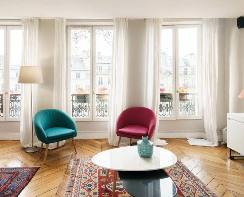 Contemporary Home, Marais, Central Paris