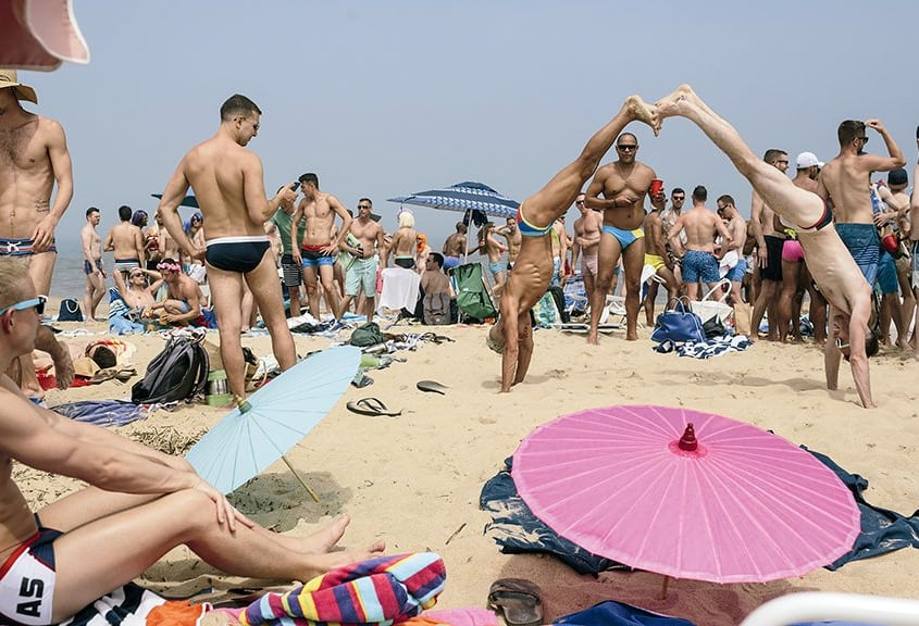 gay beach rehoboth busy