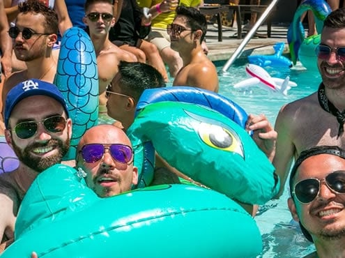 Boom Lagoon Pool Party WEHO