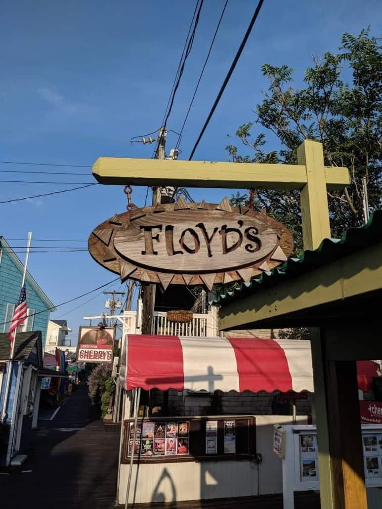 Floyds Fire Island
