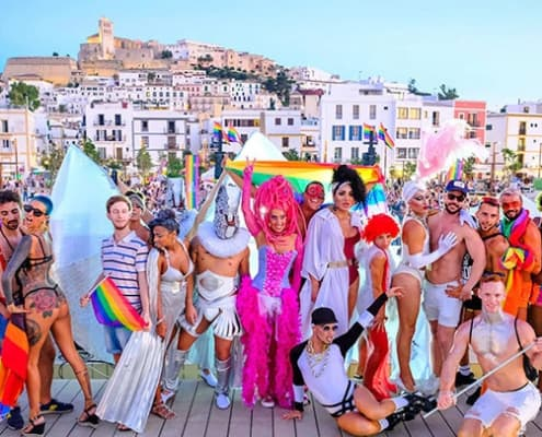 Gay Ibiza Places to Stay, Villas