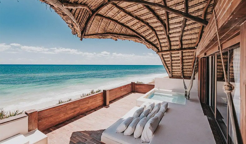 Beach Villas in Tulum