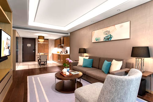 Apartamento Ascott Heng Shanghái