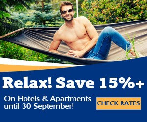 Save on Hotels and Apartments