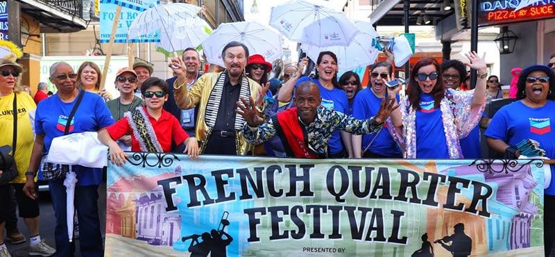 French Quarter Festival New Orleans