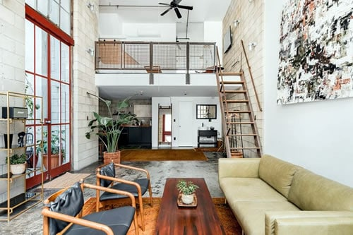 Industrial Loft Apartment San Diego