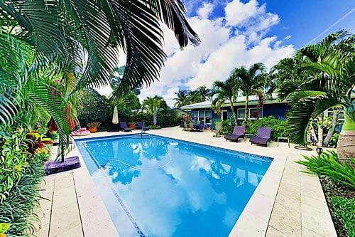Lush Tropical Villa Fort Lauderdale