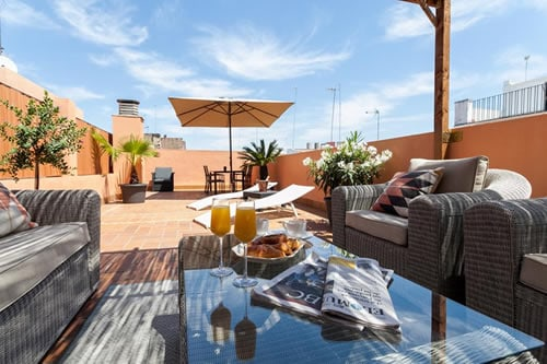 Luxury Rooftop apartment Seville