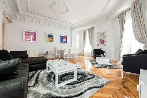 M&F Attic apartment Madrid