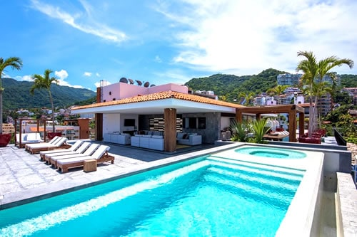 Penthouse Oceana Apartment Puerto Vallarta