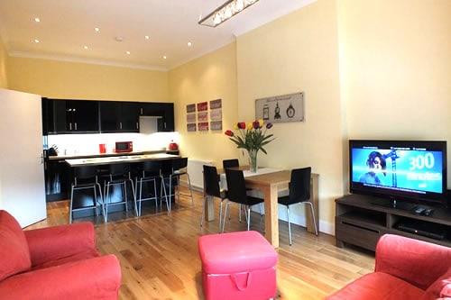 Picardy Place apartment Edinburgh