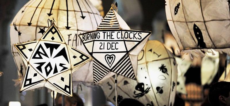 The Burning of the Clocks, Brighton