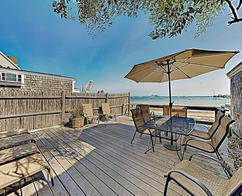 Waterfront Condo With Deck