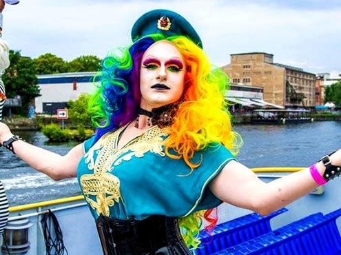 CSD auf der Spree Berlin Canal Pride