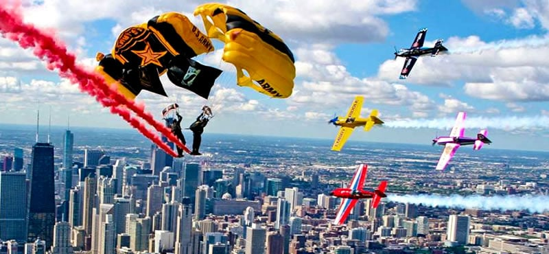 Chicago Air and Water Show Weekend