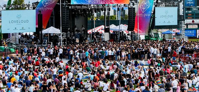 Loveloud Festival Salt Lake City.