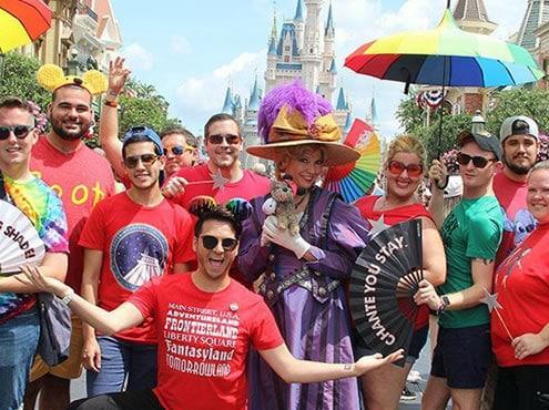 RED Shirt Pride Day Orlando