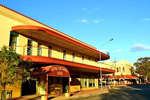 Royal Exchange Broken Hill NSW Australia