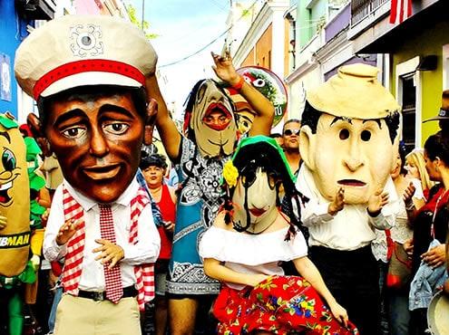 Фестиваль на улице Сан-Себастьян