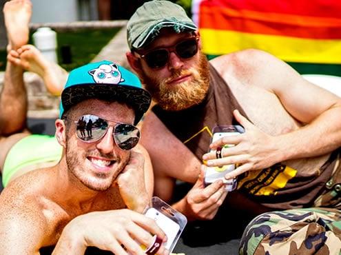 Spash Savannah Pride Pool-feest