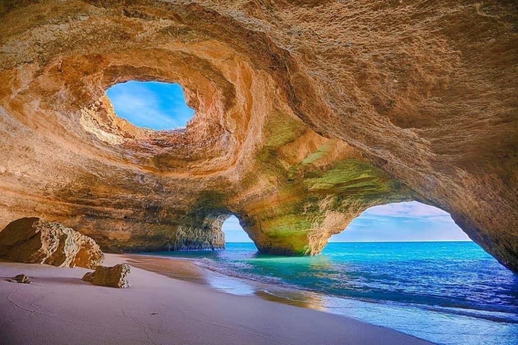 caves at Benagil