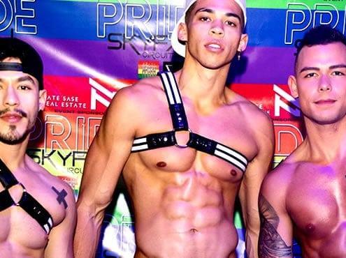 Громкая и странная официальная вечеринка Pride Utah