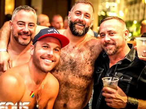 Furrageous & SubWOOFer , San Diego Bear Pride Weekend