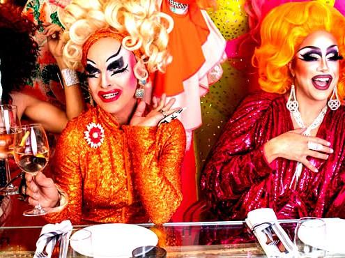 Pride Dinner in Drag at the Miami Cardozo Hotel