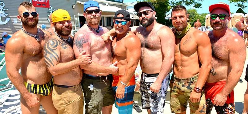 Provincetown Splash, Bear Week Pool Party and DILF night