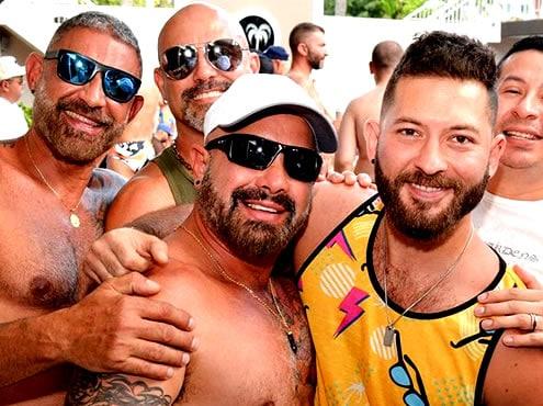 Festa in piscina dell'orso pazzo Fort Lauderdale